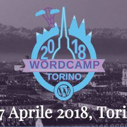 WordCampTorino 2018